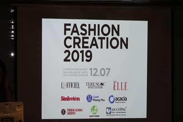 AN CƯỜNG ĐỒNG HÀNH CÙNG SỰ KIỆN FASHION CREATION 2019-ĐH HOA SEN
