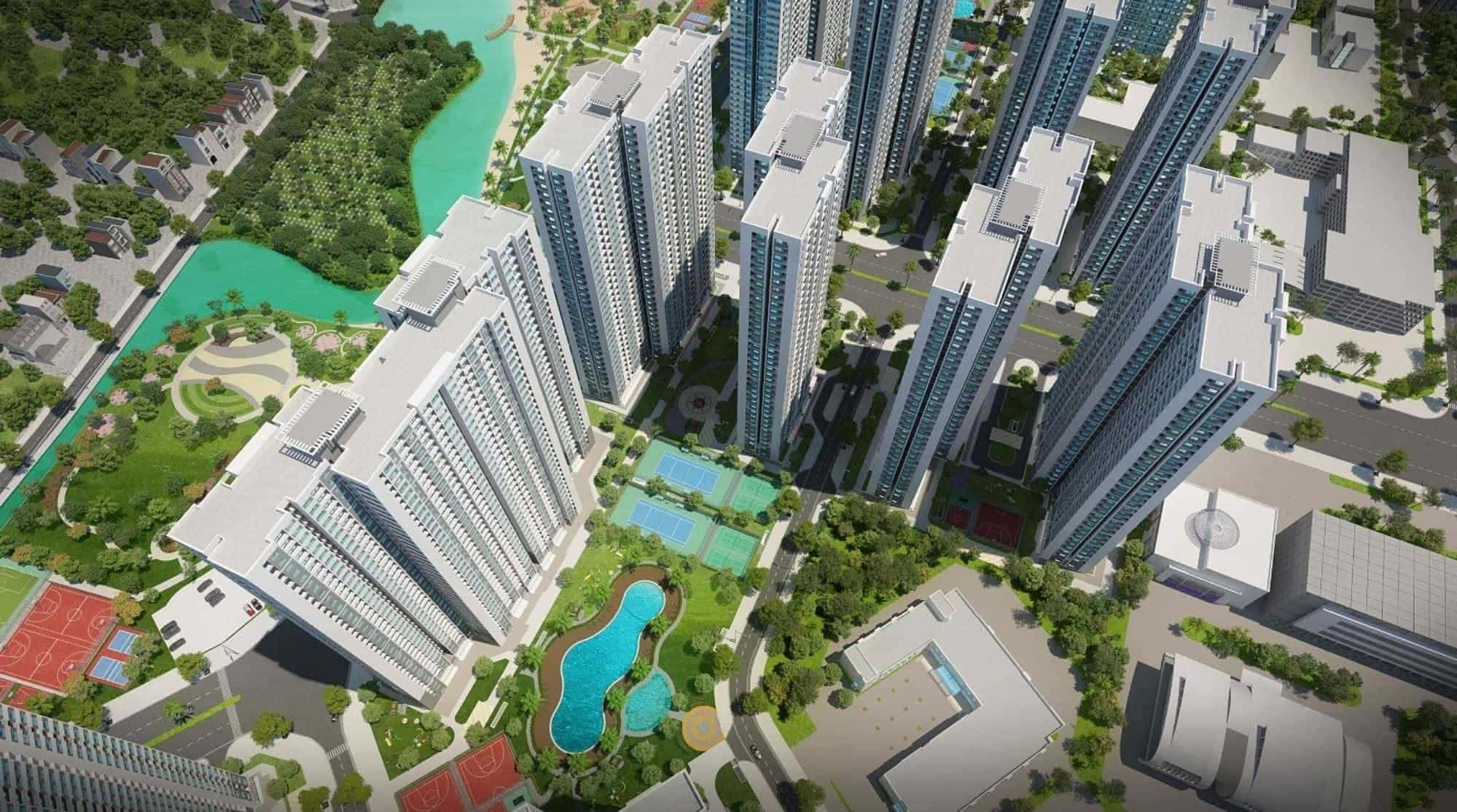 VINHOMES SMART CITY (CĂN HỘ 2 PHÒNG NGỦ)