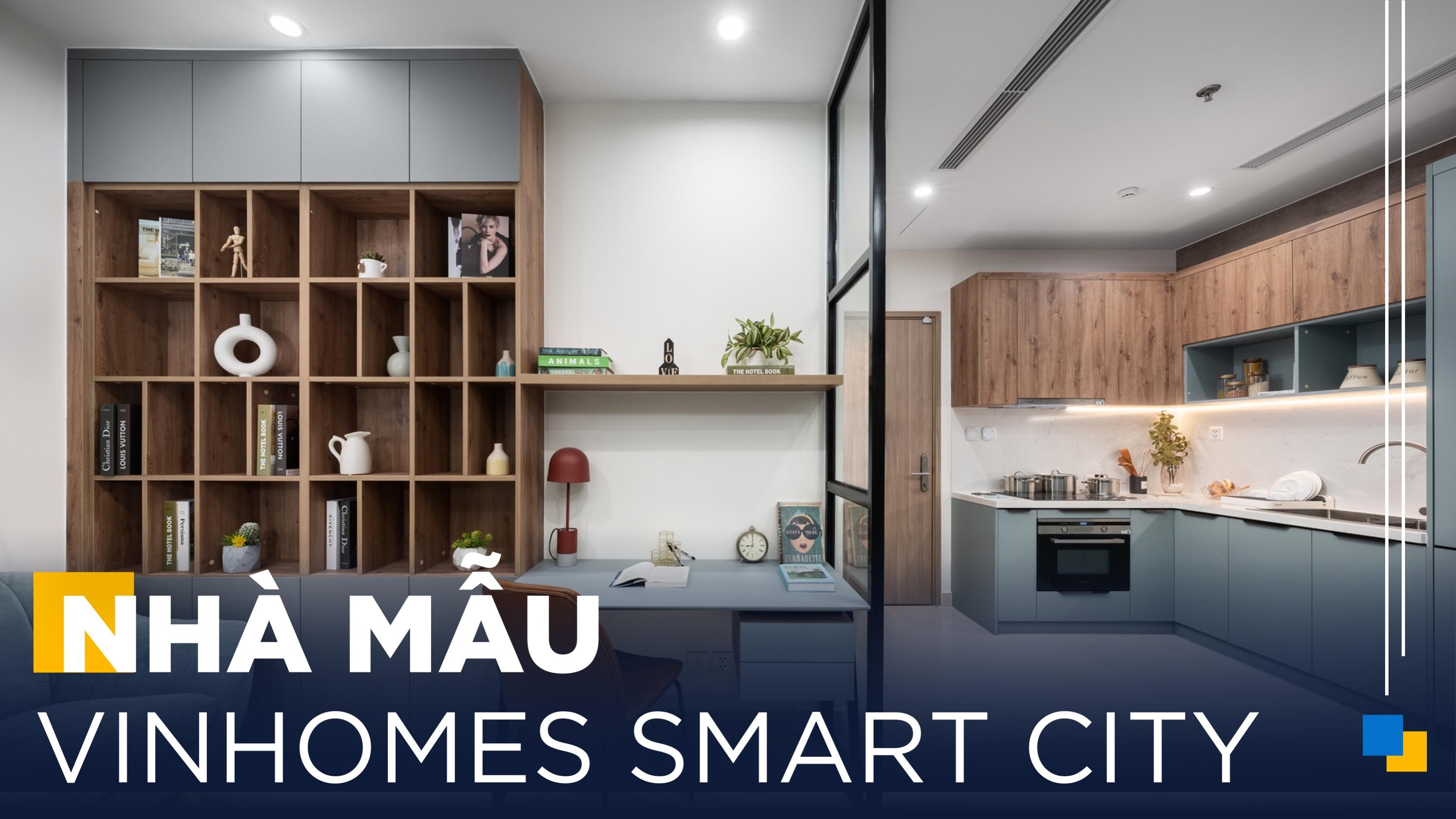 Gỗ An Cường | Thiết Kế Căn Hộ 1 Phòng Ngủ Siêu Hợp Lý Tại Vinhomes Smart City