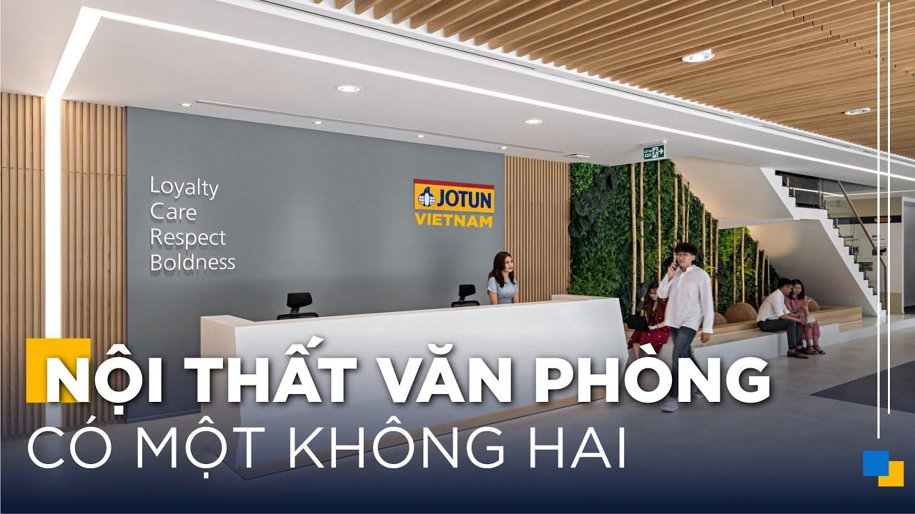Đỉnh Cao Nội Thất Văn Phòng - Jotun Vietnam | Gỗ An Cường x ADP Architects