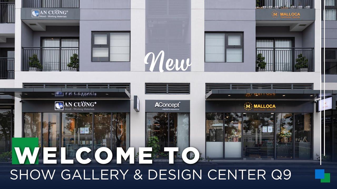 An Cường NEW Show Gallery & Design Center - Vinhomes Grand Park Quận 9 | Gỗ An Cường